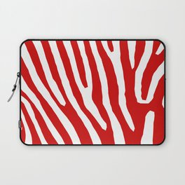 Red Zebra Laptop Sleeve