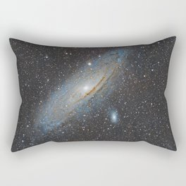 Andromeda Galaxy. Rectangular Pillow