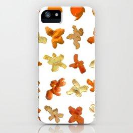 Orange Peel Party iPhone Case