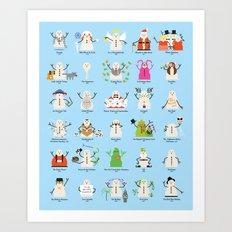 Christmas Classics Art Print