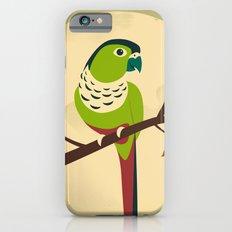Green Cheek Conure Slim Case iPhone 6