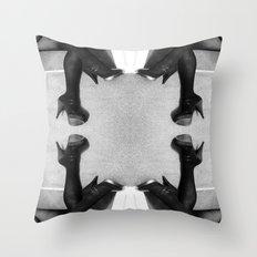 quad-heel Throw Pillow