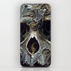 goliath skull iPhone & iPod Skin