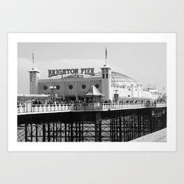 Brighton Pier, England Art Print