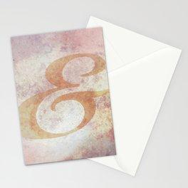 Biorst Ampersand Stationery Cards