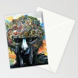 MF Doom - Metal Fingers Daniel Dumile - HIP HOP ICON uui Stationery Cards