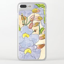 Thunbergia Clear iPhone Case