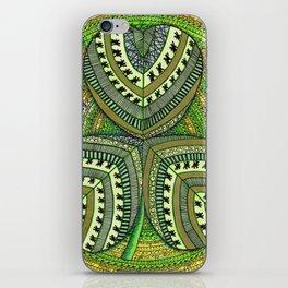 Patterned Shamrock iPhone Skin