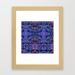 ACID Foil Framed Art Print