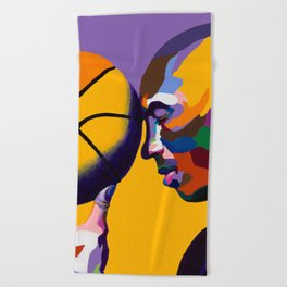 One With The Game Beach Towel