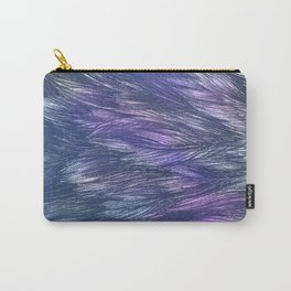 Abstract Indigo Waves Carry-All Pouch