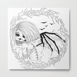 The wind between you and me. Metal Print