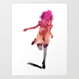 as tall as lions Art Print