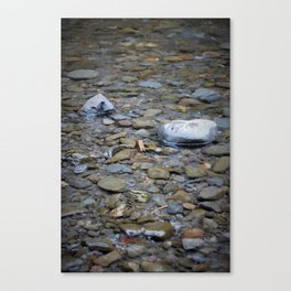 River Smooth Canvas Print