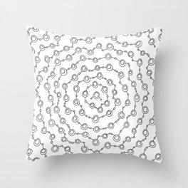 Munnen - Protection Throw Pillow