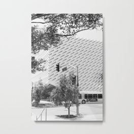 The Broad In the Afternoon Black & White Photography Metal Print