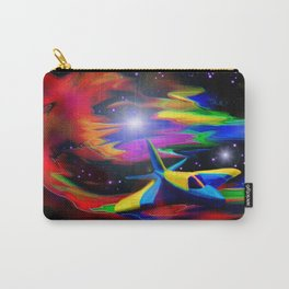Future Piper in the Paradise Nebula Carry-All Pouch