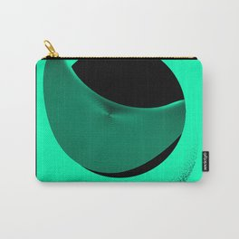 Graphic Poster # 01- Shapes and Waves Carry-All Pouch