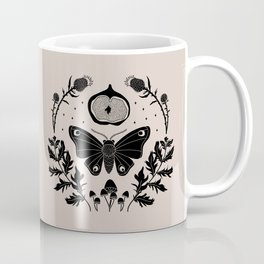 Moth, Mugwort & Mushrooms Coffee Mug