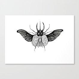 BeetleBrain Canvas Print