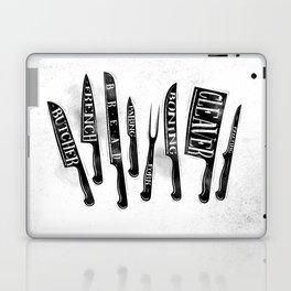 Kitchen knife Laptop & iPad Skin