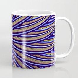 Fantasy bird's eye, fractal pattern abstract Coffee Mug