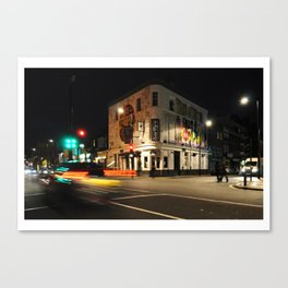 London Barfly Canvas Print
