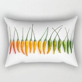 Hot Pepper Gradient Rectangular Pillow
