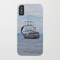 pirate iPhone & iPod Cases featuring Pirate by Caio Trindade