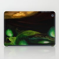 ohm iPad Cases featuring OHM by Angelica Gonzalez Donaire