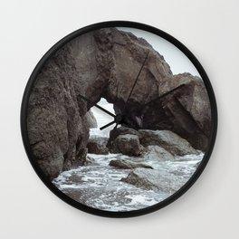 Ruby Beach Wall Clock