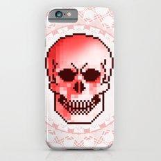 pixel skull Slim Case iPhone 6s