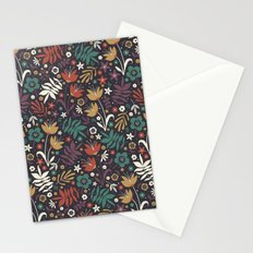 Midnight Florals Stationery Cards