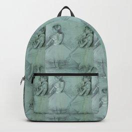 """Edgar Degas """"Two Dancers"""" Backpack"""