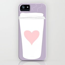 Ode To Coffee iPhone Case