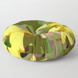 Daffodils Floor Pillow