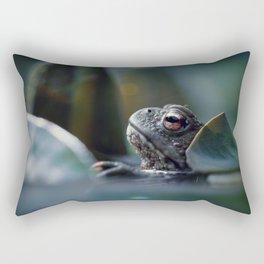 The toad Rectangular Pillow