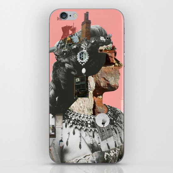 Crazy Woman - Della Mona Rosa iPhone & iPod Skin