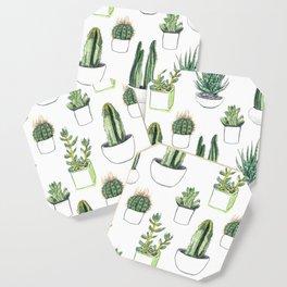 Watercolour Cacti & Succulents Coaster