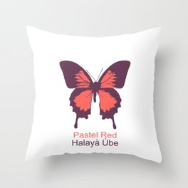 Ulysses Butterfly 3 Throw Pillow