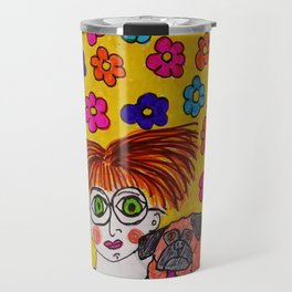 """Tallulah Thought She Had Smashing Taste In Decorating Even If No One Else Liked It"" Travel Mug"