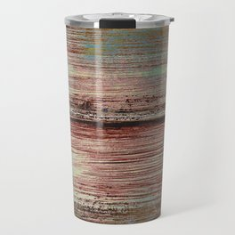 Distressed rust abstract Travel Mug