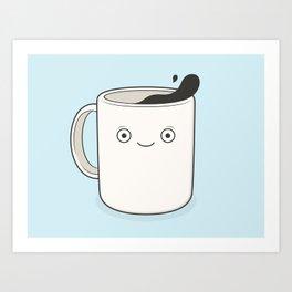 whoa, coffee! Art Print