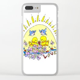 """""""Together"""" Clear iPhone Case"""