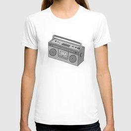 RADIO CASSETTE T-shirt