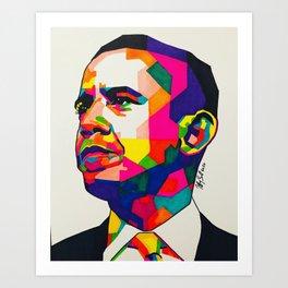 BarackObama Art Print