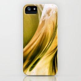 Golden Flow iPhone Case
