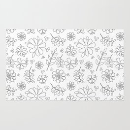 White Party Rug