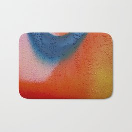 Painted Bath Mat