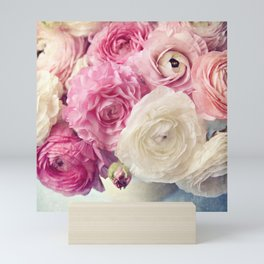 shades of pink Mini Art Print
